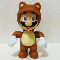 High Quality PVC NEW 10cm Super Mario Bro Figure Tanooki Mario Retail 1PCS Free shipping