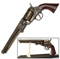 Rare Antique Colt 36 U.S 1851 Navy Revolver Gun 1:1 Model Heavy Pistol Lighter