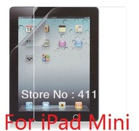 Clear Screen Guard Screen Protector For iPad Mini With Retail Package 20pcs/lot Free Shipping