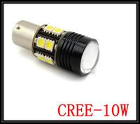 Free Shipping New 1156 BA15S 7W CREE Q5 Car SMD 5050 Wedge LED Reverse Lamp Light Bulb White Turn Tail Brake