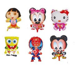 2013 Hot Selling Free shipping wholesale 50pcs/lot foil helium balloon,cartoon balloon