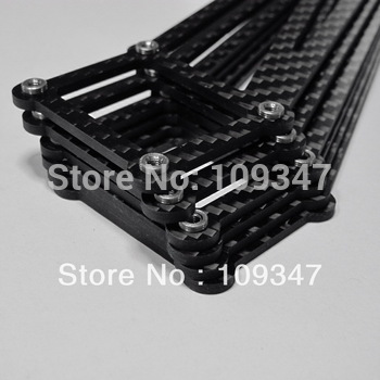 CS016-updated 3mm thick  FREEFLY CINESTAR LANDING GEAR 1set 3pairs