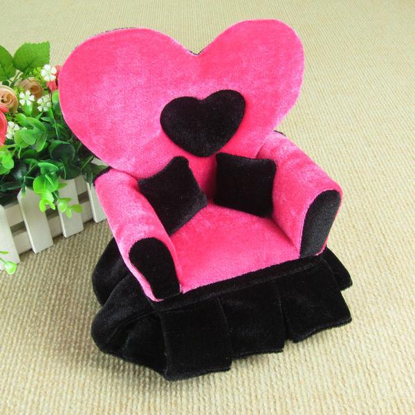 Free Shipping 17x9x21cmH Mini Furniture Sofa Jewelry Boxes Creative Romantic Wedding Gifts Birthday Gifts(China (Mainland))