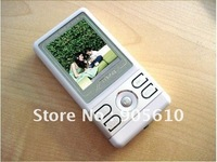 Free shipping 8GB 1.8 inch TFT screen MP3 Player MP4 Player with speaker out FM REC