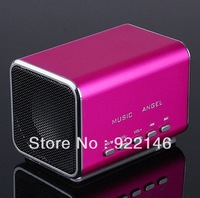 Free Shipping!  2pcs/lot Micro SD TF Music Player Mini Speaker for Laptop iPod Tablet Free Shipping, Wholesale/Retail
