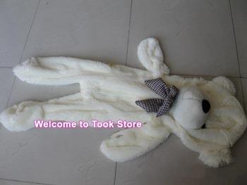 Free DHL +35pcs/lot 80CM unfilled teddy bear skin empty Teddy bear plush toys coat Valentine's Day Gift soft Skin birthday gift