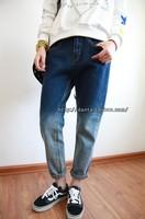 2013 spring flavor bf blue gradient loose k841 skinny jeans S,M,L