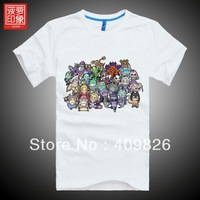 Free shipping Dota t-shirt Cute Heros Collection summer short-sleeve icefrog PlayDota.com recommend