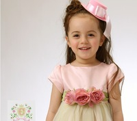 girl Dress Children's Dresses Baby & Kids formal dress Rose princess dress