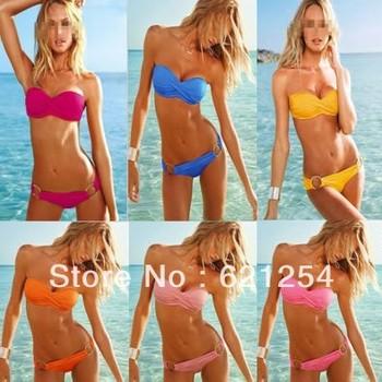 Holiday Sale 2013 Fashion Brand woman Sexy bikini with PAD Hot swimsuits Ladies swimwear beachwear