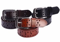 FREE SHIPPING Cowskin  leather belts  for men cowboy belts hot-selling MPD28