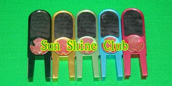 U shape multifunction tip tools/Pool Billiard Cue Stick Shaper Scuffer/tip sander and scuffer