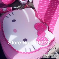 U1 Polka dot dots design Hello Kitty car series car seat cushion mat , 1pc FREE SHIPPING