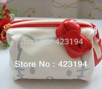 Hello Kitty interlayer cosmetic bag scattered purse/KT handbag jewelry bag