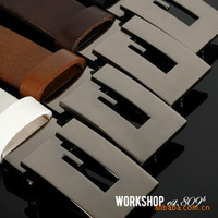 Free Shipping Classic letter agings fashion men's belt male strap hot-selling