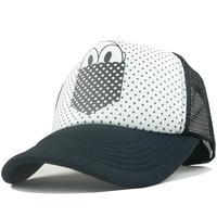 Male women's spring 2012 sun-shading casual fashion truck cap hiphop mesh cap
