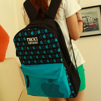 New,2013 fashion bag bags trend backpack student bag casual fashion travel backpack student school bag