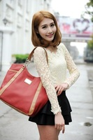 Brand One shoulder chain bag one shoulder handbag women's handbag fashion patchwork fashion work bag