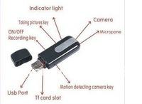 Free shipping Mini New USB Camera Voice Recorder Disk video record Camcorder DVR Camera Hidden DV U8