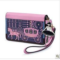 2013 little princess wallet fashion women's mini short design small wallet women's wallet  ,free shipping
