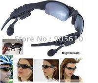 wholesale New 2GB Headset Sunglass Mp3 Player/ Mp3 Sunglass Player MP3 Sun Glass 2G
