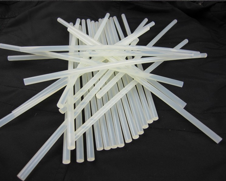 Freeshipping 50 pcs /lot 7mmx270mm Clear Glue Adhesive Sticks For Hot Melt Gun Car Audio Craft(China (Mainland))