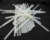 Freeshipping  50 pcs /lot  7mmx270mm Clear Glue Adhesive Sticks For Hot Melt Gun Car Audio Craft