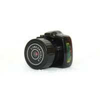 Y2000 the smallest Mini HD 640X480 Video Camera Mini DV HD Video Recorder Hidden Camera+retail box +Dropshipping