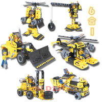 6 1 electric assembling building blocks 7 8 9 10 child boy educational toys child birthday present male