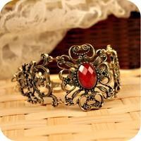 Ob0009 fashion accessories vintage royal gem flower vine flower bracelet 16g