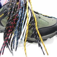 Hiking shoes laces round shoelace outdoor shoes sandals multicolour bootjacks multicolor  (1.2-1.4m)