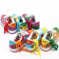 Solid color colorful shoelace canvas shoes sport shoes shoelace multicolour personality shoelace 1*115cm