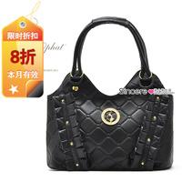 High qualtity,Extra Value Rich cat small check bag rivet bag women's handbag big bag  ,Free shiping