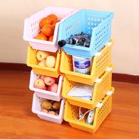 Saddam multi-purpose fruit and vegetable storage basket shelf storage rack single e290