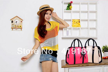 Hot sale!2013 new fashion style candy color handbags single shoulder bag female nice bag free shipping