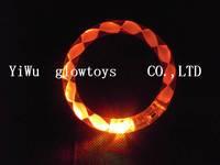 free shipping led acryl bracelet  fllash blinking bracelet wholesale