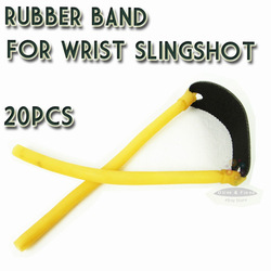 Eslatic Catapult Rubber Bands Bungee for Wrist Slingshot Shooting Accessories Outdoor Catapult Hunting 20pcs/lot Free Shipping(China (Mainland))