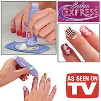 Free shipping salon express magic nail printer Nail Art Stamping as seen on tv