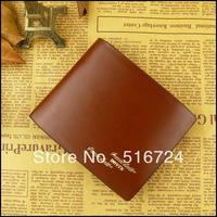 Male wallet fashion design short wallet multi card holder wallet brief commercial purse