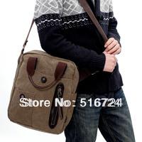 Male multifunctional canvas bag male shoulder bag  handbag commercial vintage