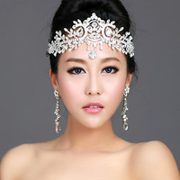 Free Shipping! 2013 New Items Flower Style Rhinestone Wedding Hair Accessories Tiaras Crown  Bridal Jewelry  QHG012