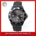 R10B  Free shipping 2013 Best Selling Promotional Silicone Quartz Waterproof Wristwatch Boy Lady Girl Watch