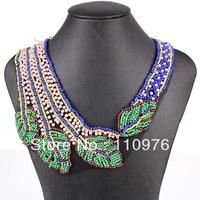 SN25407  Fashion Bubble Necklace Collar Necklace Multicolor 100% Handmade 2013 New Fashion False Collar