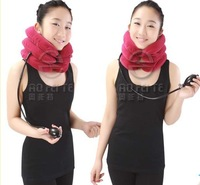 best seller !Free shipping cervical support air neck traction whiplash brace