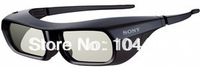 New 3D Glasses TDG-BR250/B TDG-BR250B 4 for  SONY Rechargeable Active Black