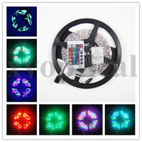 SMD RGB 5M 300 LED Strip Flexible Light Non Waterproof IR Remote Controller