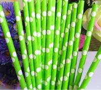 Free shipping Party/Wedding/Event suppliesEnvironmental protection,Striped Paper Straws Drinking Straws100pcs/lot 376c-white
