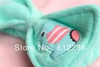 Super cute fresh mint elephant headband elephant bath / Makeup HEADBAND / ring lovely hot selling dropship free shipping