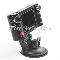 "2.7"" LCD 120 Degree Dual Lens Night Vision Driving Recorder IR Car DVR"