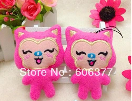 cute face Ahri plush, pendant,bag pendant,cell phone charm Free shipping!Wholesales(China (Mainland))